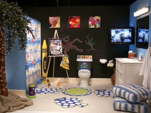 Bathroom Theme for Kids
