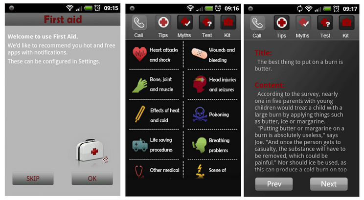 Teach Yourself First Aid With Your Smartphone