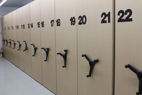 Lockers At Work