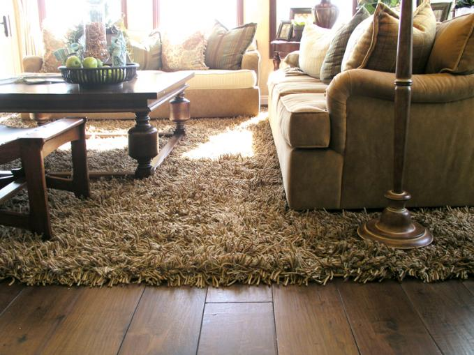 Add luxury and comfort to your living room with shag rugs - Carpets for living room online india ...