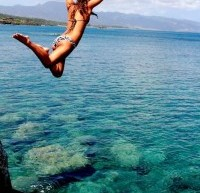 Cliff Diving Is A Token Of Adventurous Life