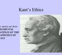 Analysis of Foundations of the Metaphysics of Morals by Immanuel Kant