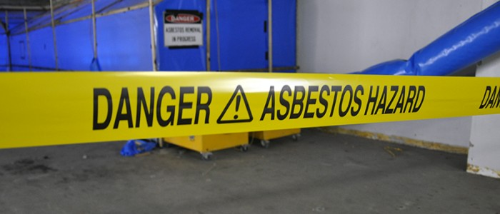 dangers of working with asbestos
