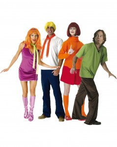 the 1960s cartoon series scooby doo is still popular to this day many live action films have been released since then and a group of friends or those who