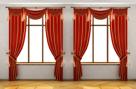 Add Pattern and Color Into Your Room With Window Valances