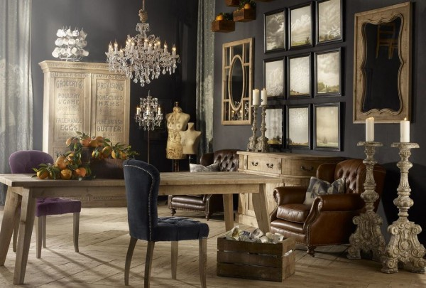 Using The Vintage Style Furniture To Beautify Your Home