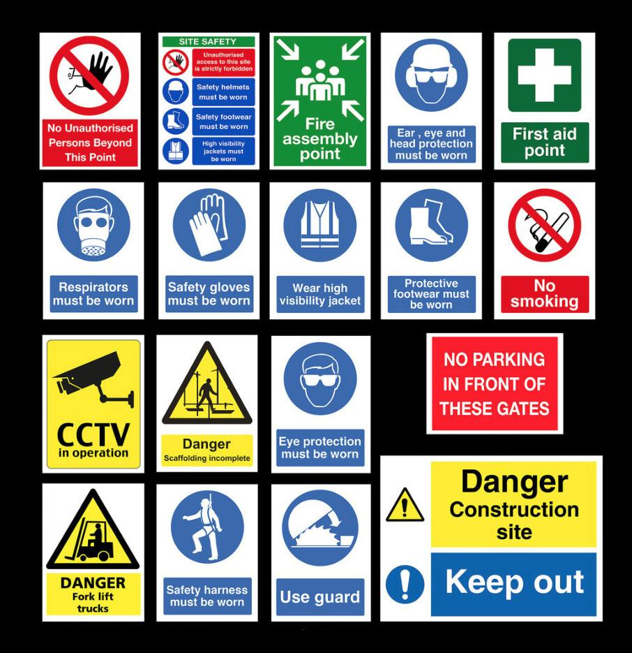 Different Kinds Of Safety Signs Required At A Workplace ...